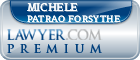 Michele Patrao Forsythe  Lawyer Badge