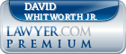David G. Whitworth Jr.  Lawyer Badge