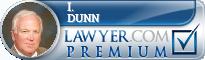 I. John Dunn  Lawyer Badge