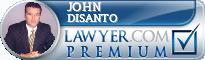 John M. DiSanto  Lawyer Badge
