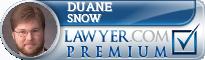 Duane J. Snow  Lawyer Badge