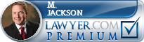 M. Scott Jackson  Lawyer Badge