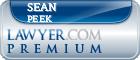 Sean Peek  Lawyer Badge