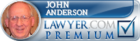 John B. Anderson  Lawyer Badge
