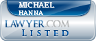 Michael Hanna Lawyer Badge