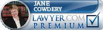 Jane R. Cowdery  Lawyer Badge