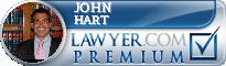 John S. Hart  Lawyer Badge