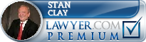 Stan Clay  Lawyer Badge