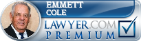 Emmett Cole  Lawyer Badge