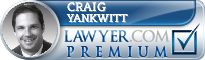 Craig N. Yankwitt  Lawyer Badge