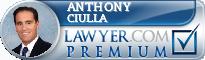 Anthony Ciulla  Lawyer Badge