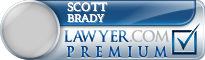 Scott E. Brady  Lawyer Badge