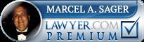 Marcel A. Sager  Lawyer Badge