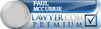 Paul J. McCurrie  Lawyer Badge