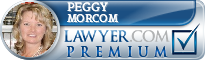 Peggy M. Morcom  Lawyer Badge