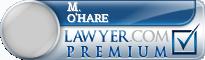 M. Margaret O'Hare  Lawyer Badge