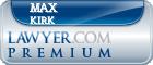 Max E. Kirk  Lawyer Badge
