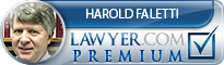 Harold Faletti  Lawyer Badge