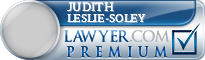 Judith Leslie-Soley  Lawyer Badge