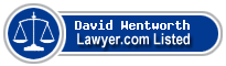 David Wentworth Lawyer Badge