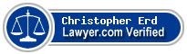 Christopher A. Erd  Lawyer Badge