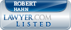 Robert Hahn Lawyer Badge