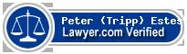 Peter (Tripp) G. Estes  Lawyer Badge