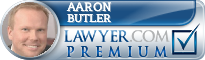 Aaron J Butler  Lawyer Badge