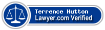 Terrence Hutton  Lawyer Badge