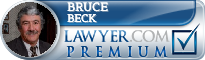 Bruce S. Beck  Lawyer Badge