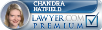 Chandra R. Hatfield  Lawyer Badge