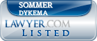 Sommer Dykema Lawyer Badge