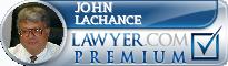 John H. LaChance  Lawyer Badge