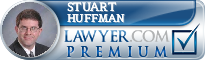 Stuart P. Huffman  Lawyer Badge
