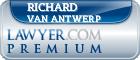 Richard F. van Antwerp  Lawyer Badge