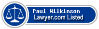 Paul Wilkinson Lawyer Badge