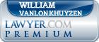 William B. VanLonkhuyzen  Lawyer Badge