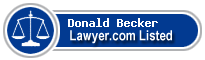 Donald Becker Lawyer Badge