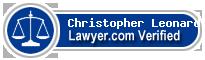 Christopher K. Leonard  Lawyer Badge