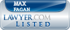 Max Fagan Lawyer Badge