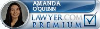 Amanda O'Quinn  Lawyer Badge