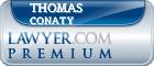 Thomas P. Conaty  Lawyer Badge