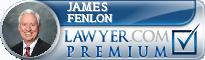 James F. Fenlon  Lawyer Badge