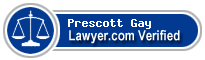 Prescott H. Gay  Lawyer Badge