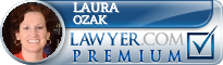 Laura Ozak  Lawyer Badge