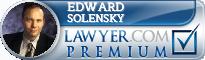 Edward Solensky  Lawyer Badge