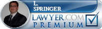 L. Matthew Springer  Lawyer Badge