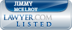 Jimmy McElroy Lawyer Badge