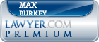 Max Burkey  Lawyer Badge