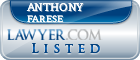 Anthony Farese Lawyer Badge